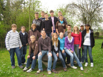 Auf Konfirmanden-Fahrt in Gernsheim