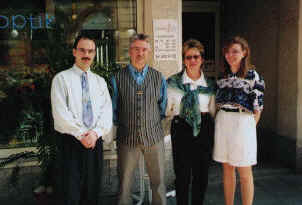 Roman Gleißner, Georg und Eva Stratz, Maite Gleißner