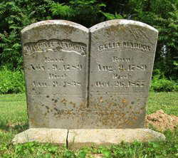 Michael Maddox & Celia Owsley Maddox, Moffett Cemetery, Milton, KY (Find A Grave Memorial provided.  Click the photo to advance to the Memorial Page).
