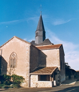 Église Saint-Benoît à Beaulieu-sous-Parthenay