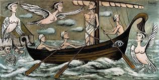 Bernard Buffet - Ulysse et les Sirènes (1993)