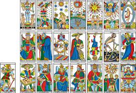 Les 22 lames du Tarot de Marseille