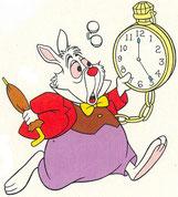Tel le lapin blanc d'Alice, nous nourrissons l'égrégore temps qui nous asservit