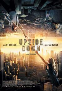 Affiche du film Upside Down (2012), signifiant sens dessus dessous