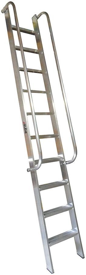 Escalera de un tramo tienda online escaleras de aluminio for Escalera un tramo