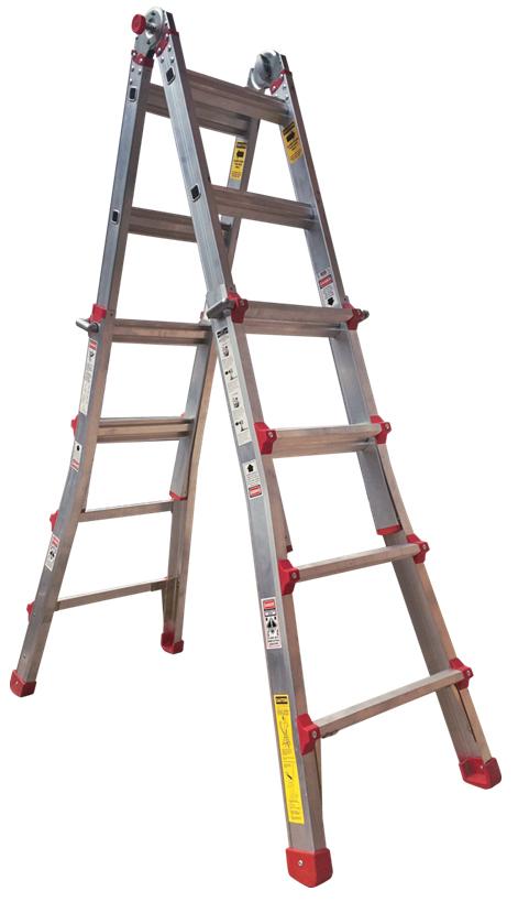 Escalera multifunci n tienda online escaleras de aluminio for Escaleras profesionales