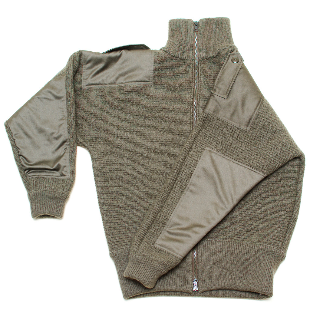 Dachstein Woolwear Military Cardigan Sweater - Sweater Chalet