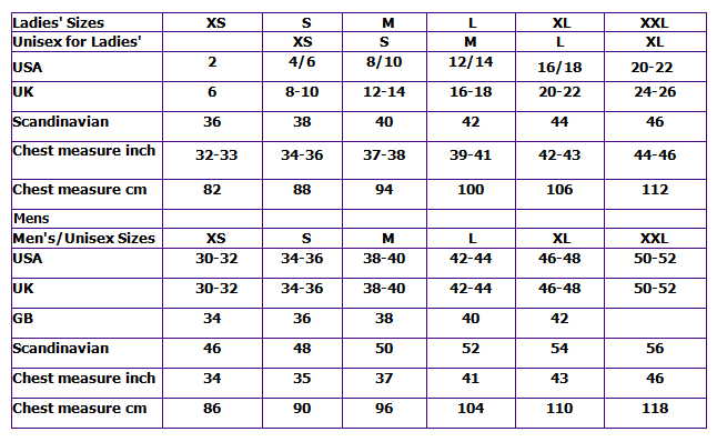 Sweater chalet size chart sweater chalet