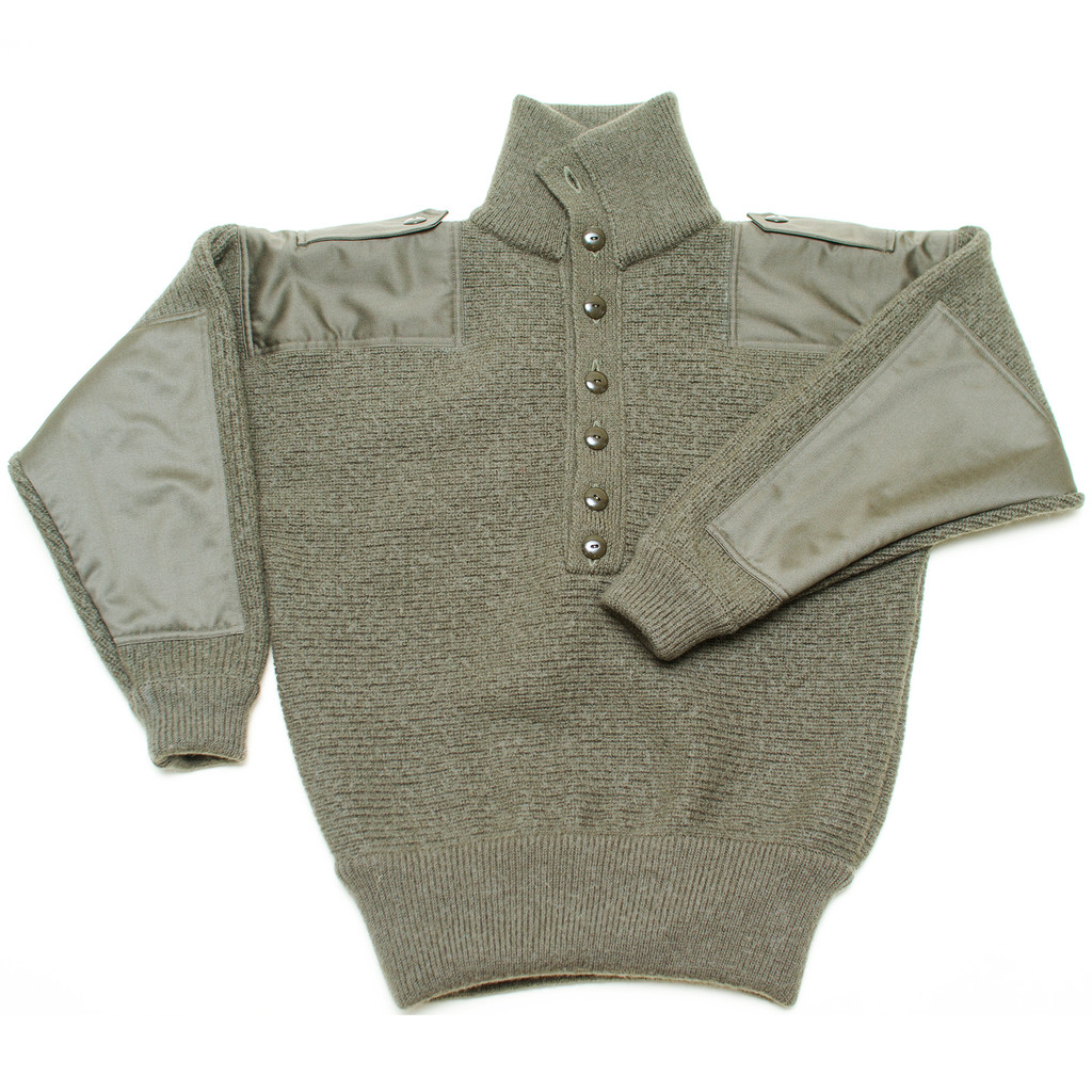 e5137ac8cbe Dachstein Woolwear Military Wool Pullover 1410 - Sweater Chalet