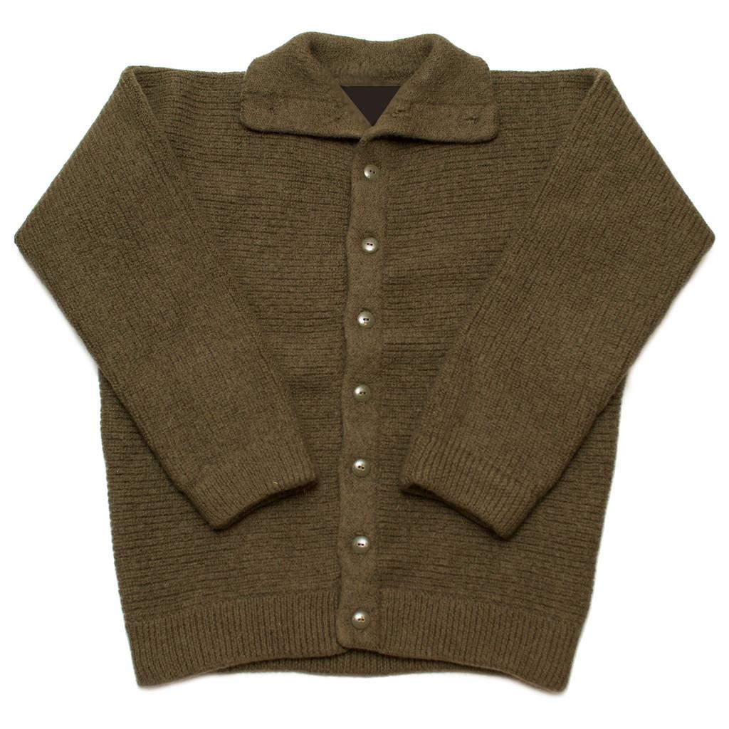 Dachstein Woolwear Military Cardigan - Sweater Chalet