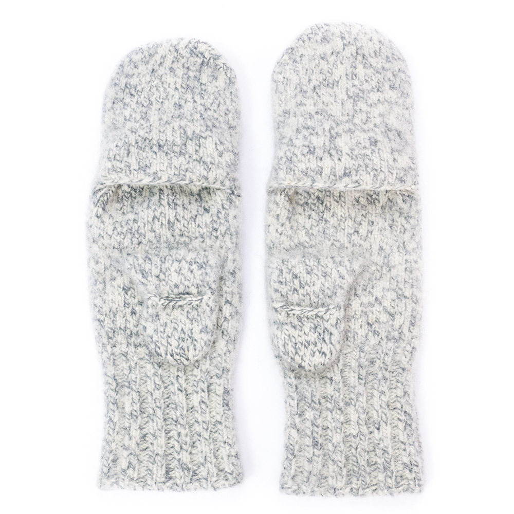 424770223f8 Dachstein Woolwear 100% Wool Mitts with Finger Cap - Sweater Chalet