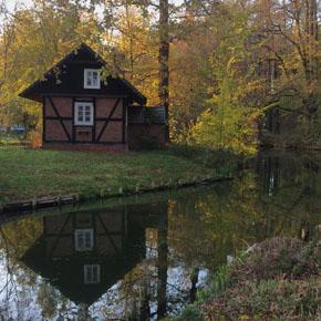 Drehort Spreewaldkrimi Eiche-Burg