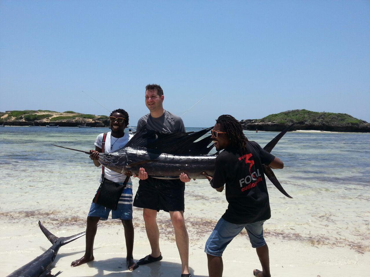 marlin kingfish tonno pesca altura watamu kenya