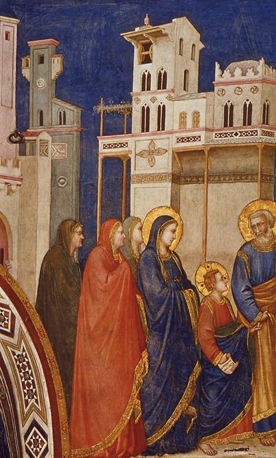 Giotto - Ritorno a Nazaret