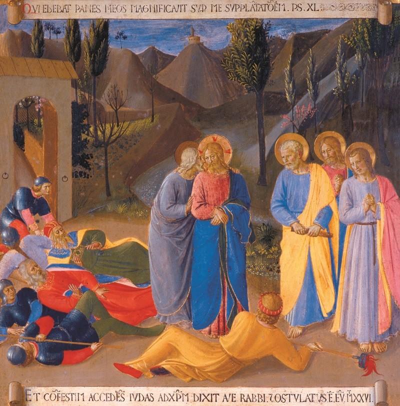 Beato Angelico - Bacio di Giuda