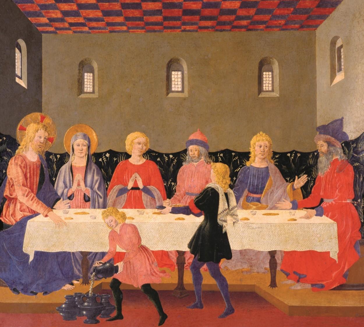 Beato Angelico - Nozze di Cana