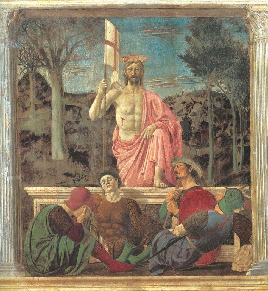 Piero Della Francesca - Resurrezione Cristo