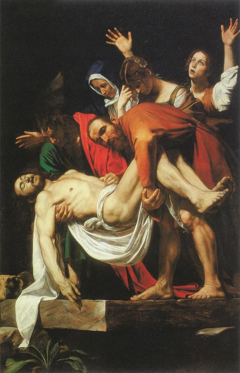 Caravaggio - Deposizione