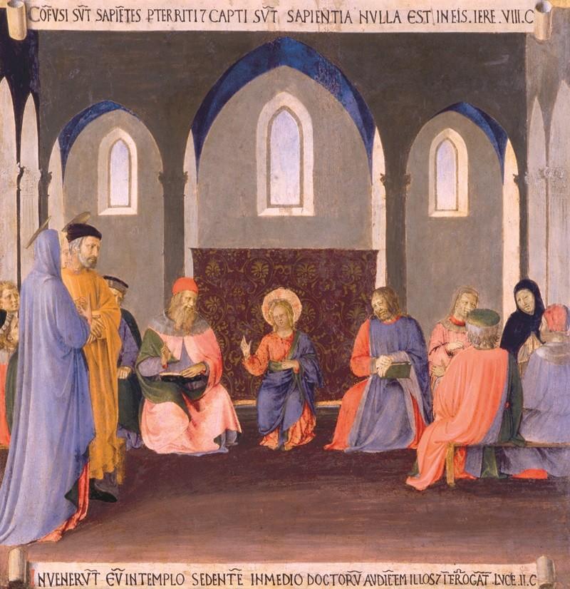 Beato Angelico - Gesù nel Sinedrio
