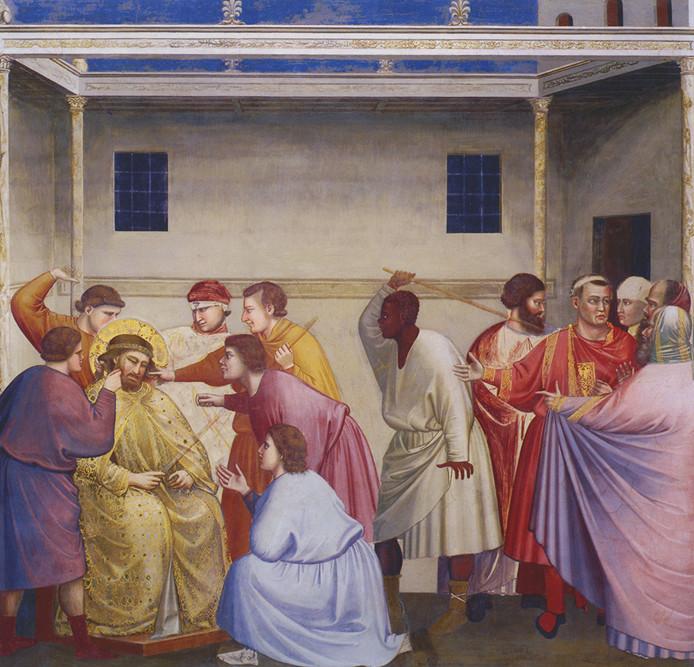 Giotto - la flagellazione