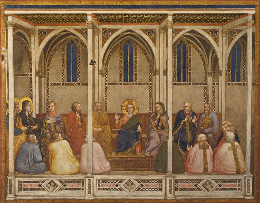 Giotto - Gesù fra i sapienti
