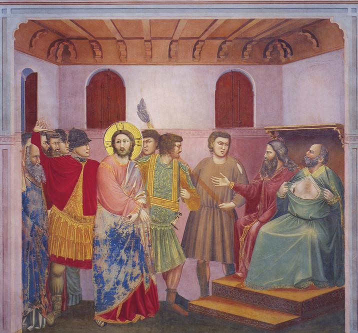 Giotto - Presentazione Gesù a Caifa