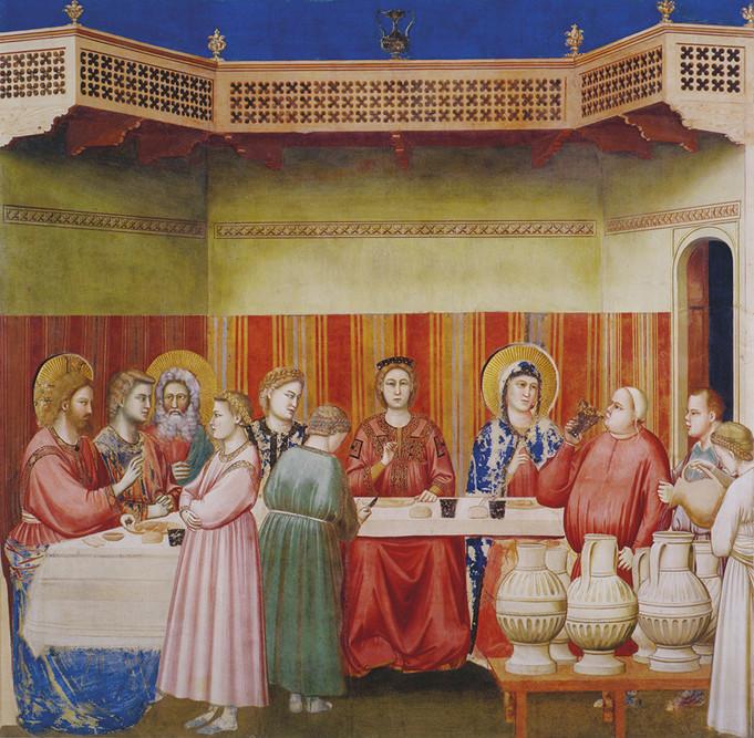Giotto - Nozze di Cana
