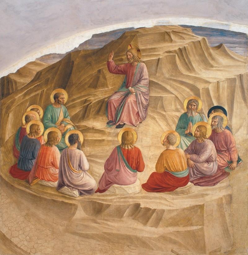 Beato Angelico - Discorso - Il sermone della montagna