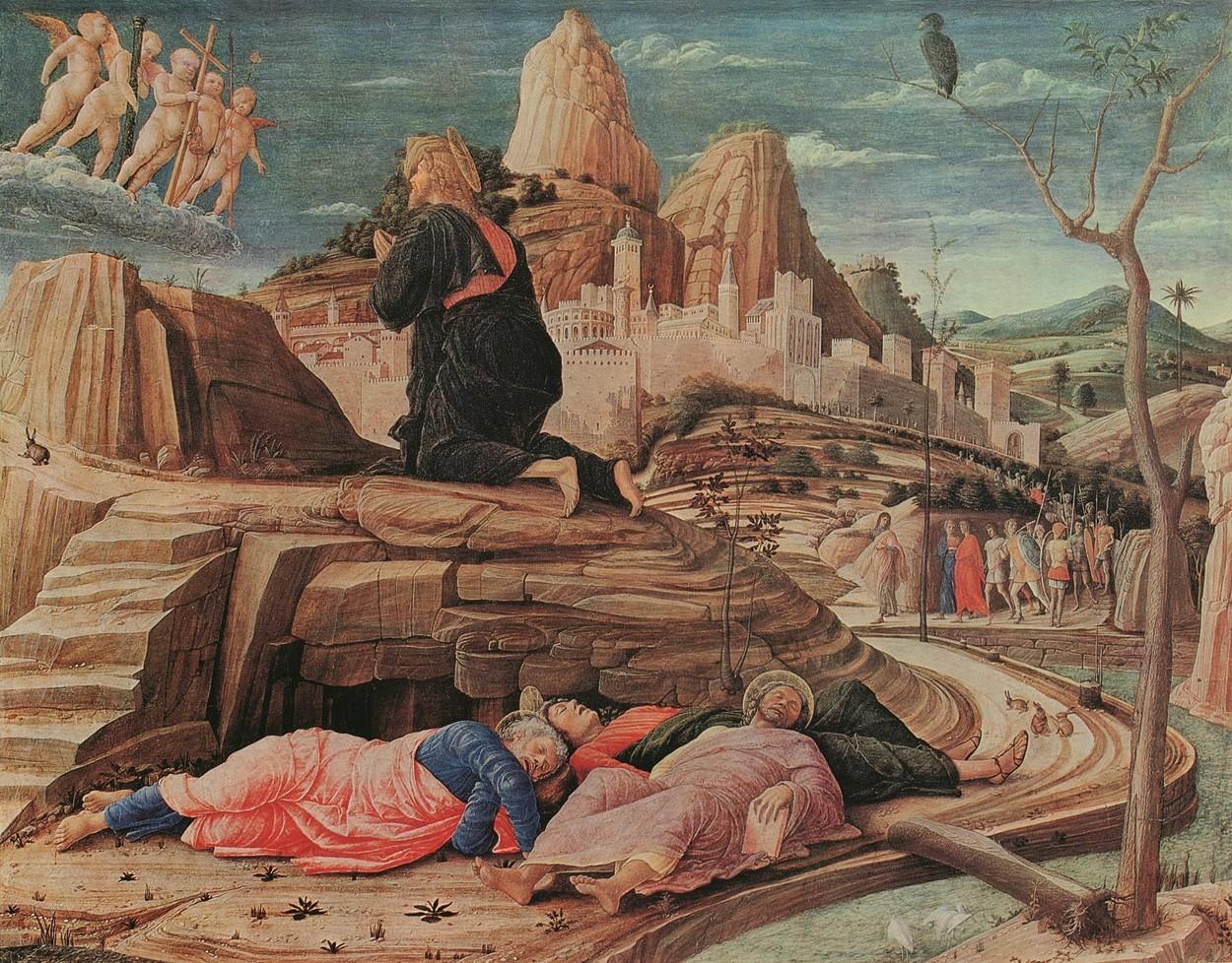Mantegna - Cristo nell'orto
