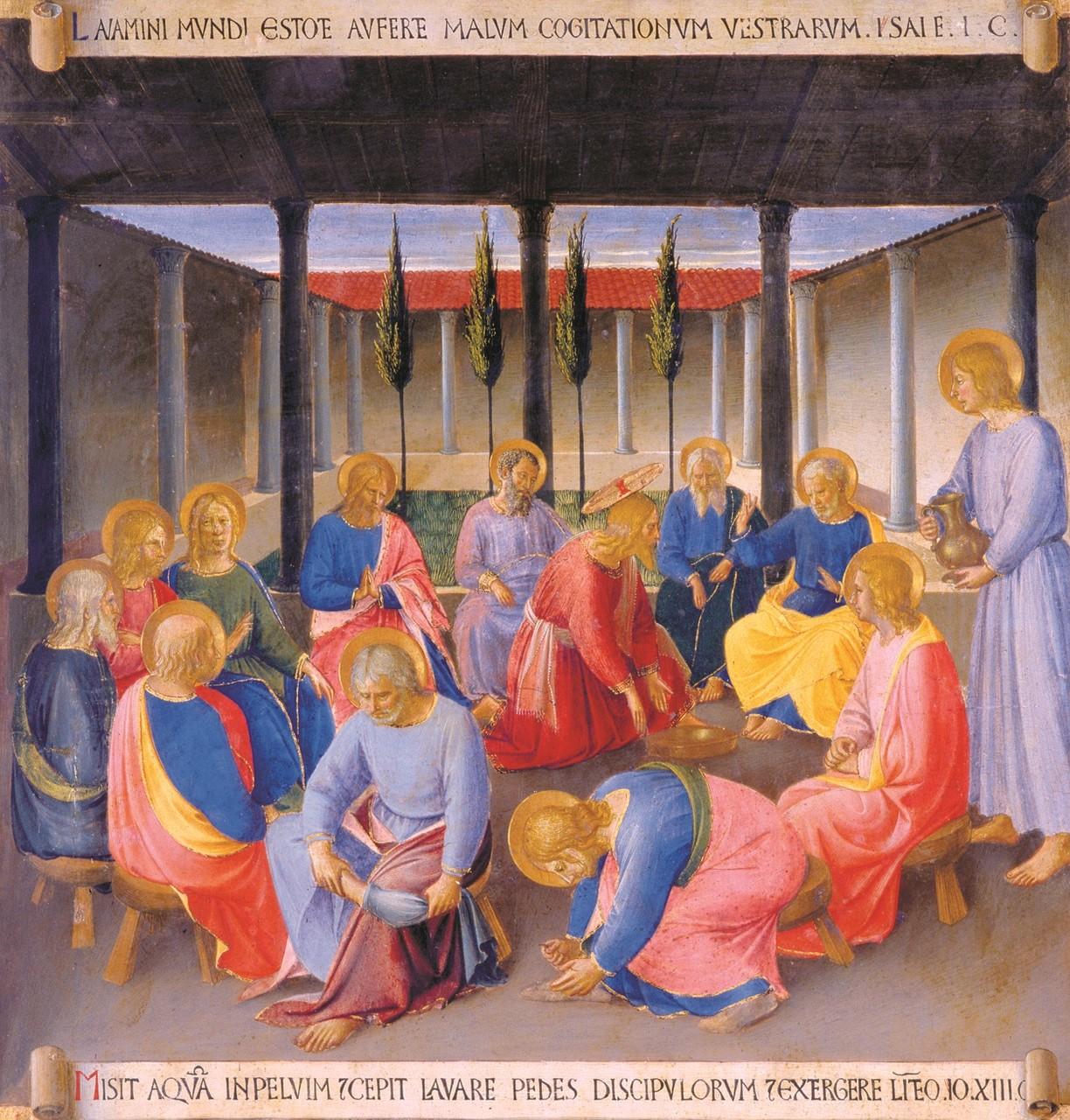 Beato Angelico - Lavanda dei piedi