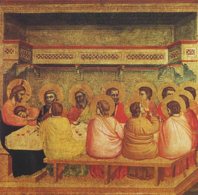 Giotto - Ultima cena Monaco