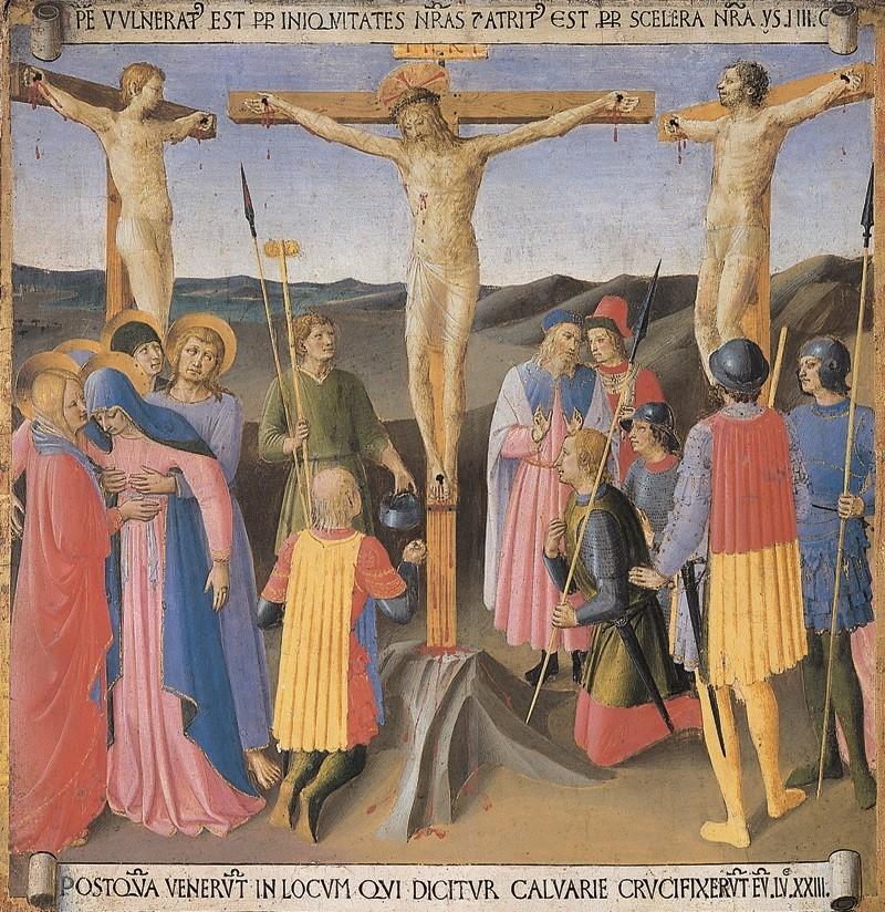 Beato Angelico - Crocefissione Gesù