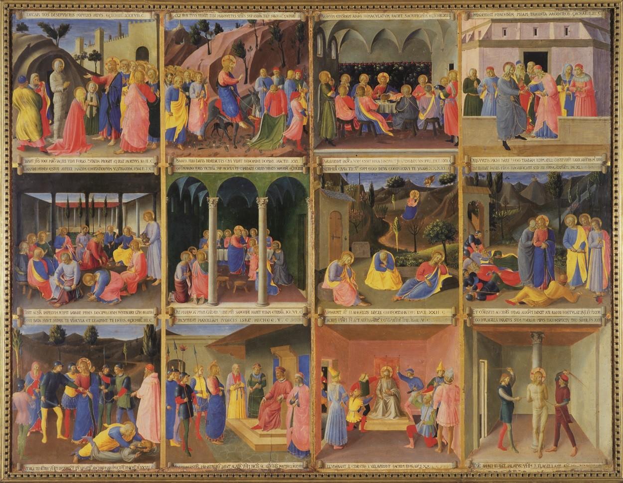 Beato Angelico - Vita di Cristo Tavola
