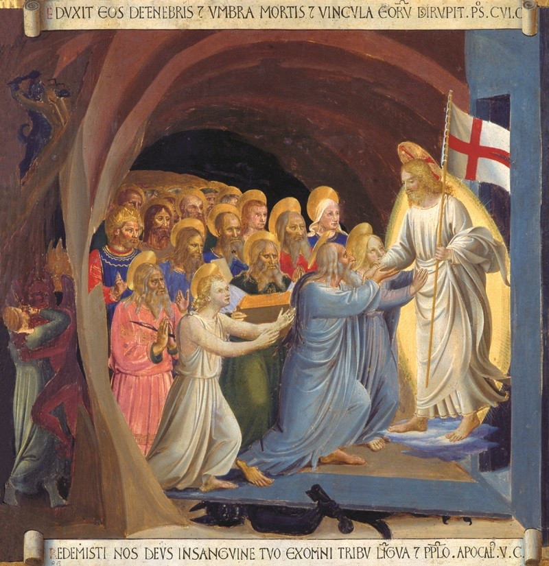 Beato Angelico - Discesa al Limbo