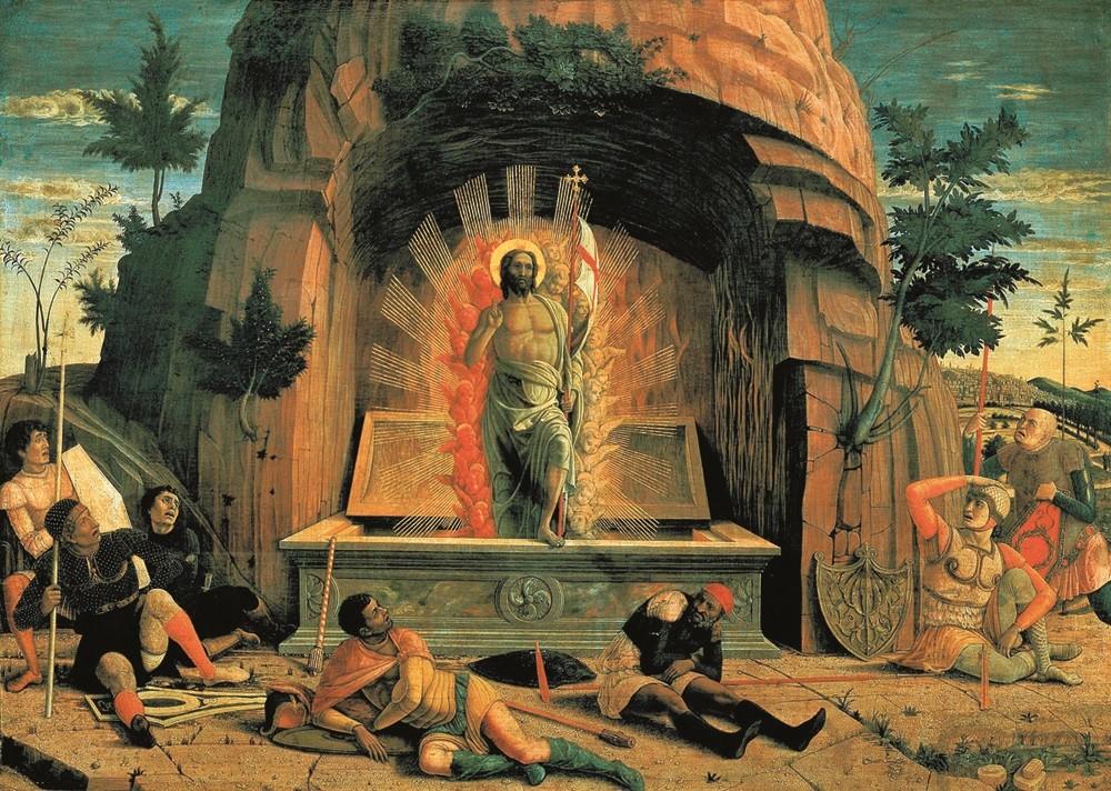 Mantegna - Risurrezione 1457-1459