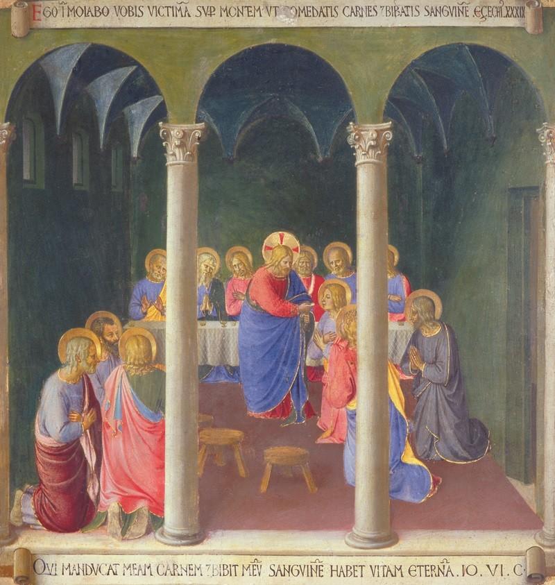 Beato Angelico - Istituzione eucaristia