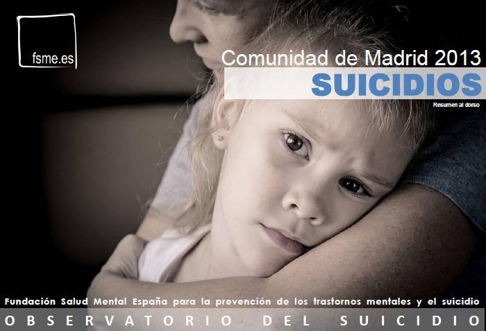 C. de Madrid. Suicidios. 2013