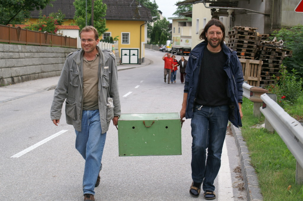 Heute klappt es! (Foto: Georg Kaindl sen., 22.6.)