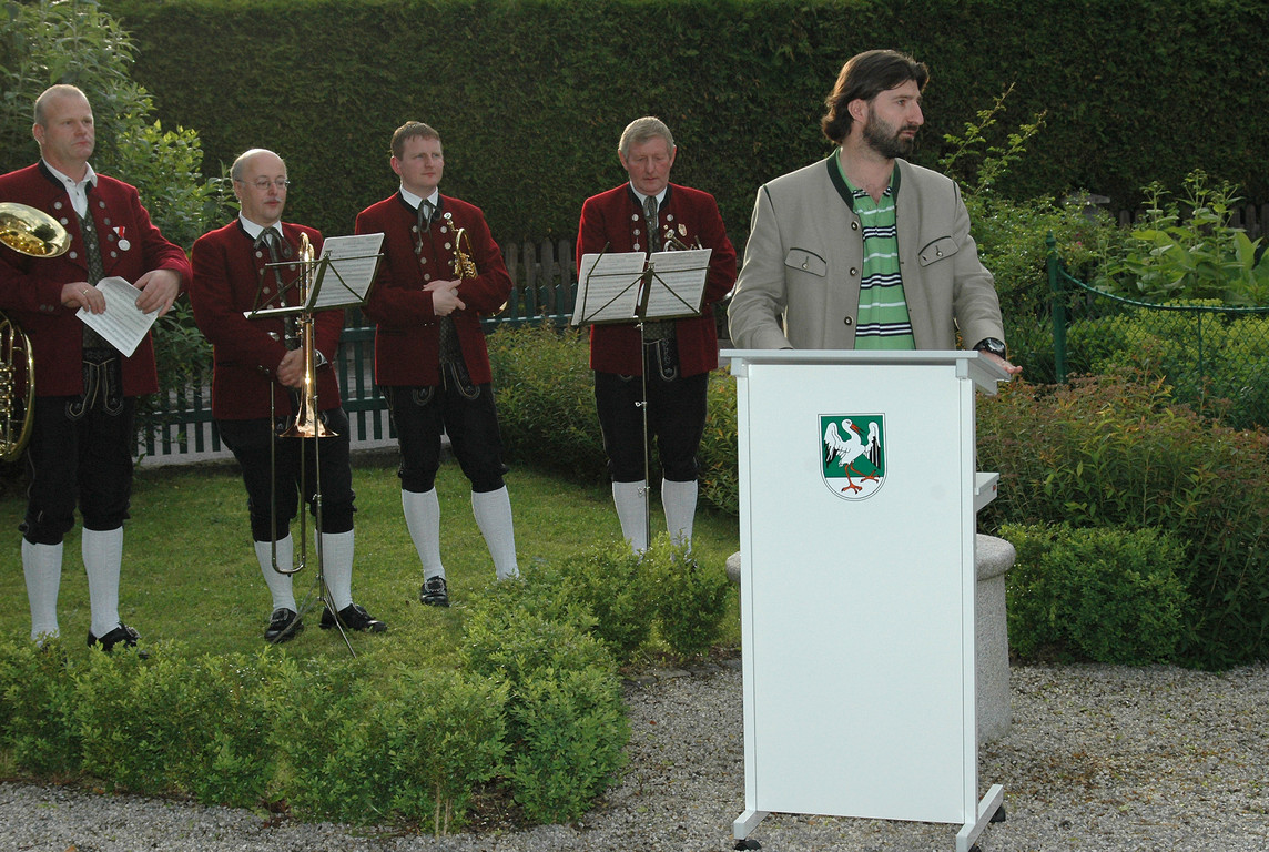 Eröffnung des Naturinformationszentrums in Saxen am 10.06.2006     Foto: Alois Kaltenböck