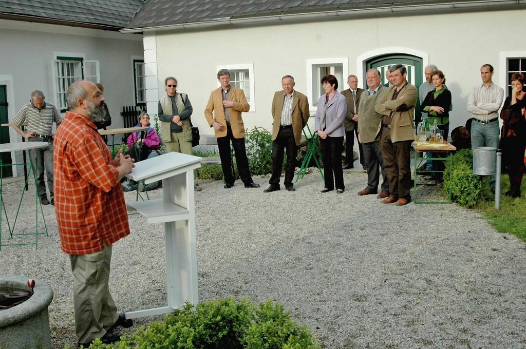 Obmann des Naturschutzbundes Oberösterreich Josef Limberger