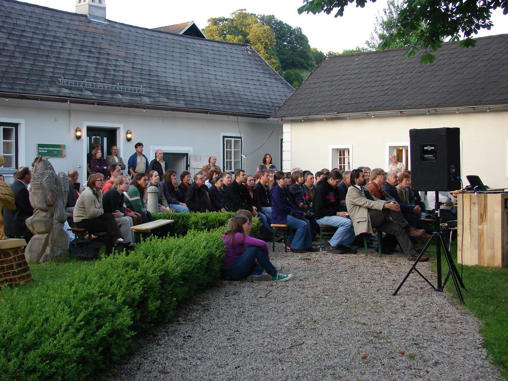Interessierte Zuhörer. Foto: Jasmin Frühwirth