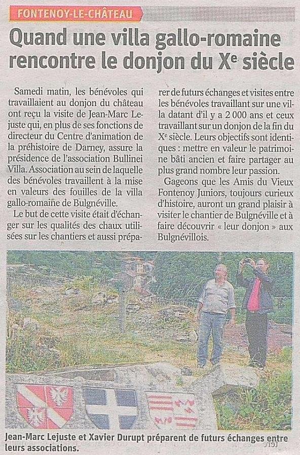 Vosges Matin - 23 juillet 2018
