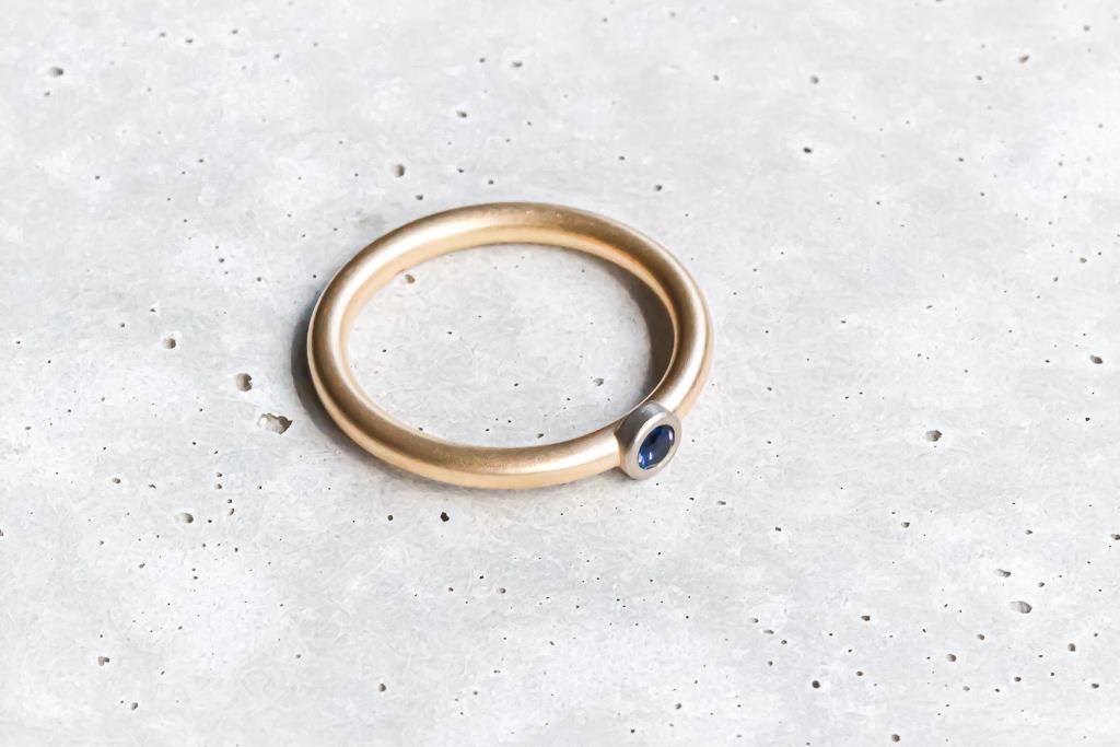 comad SOLITIARE ring sapphire