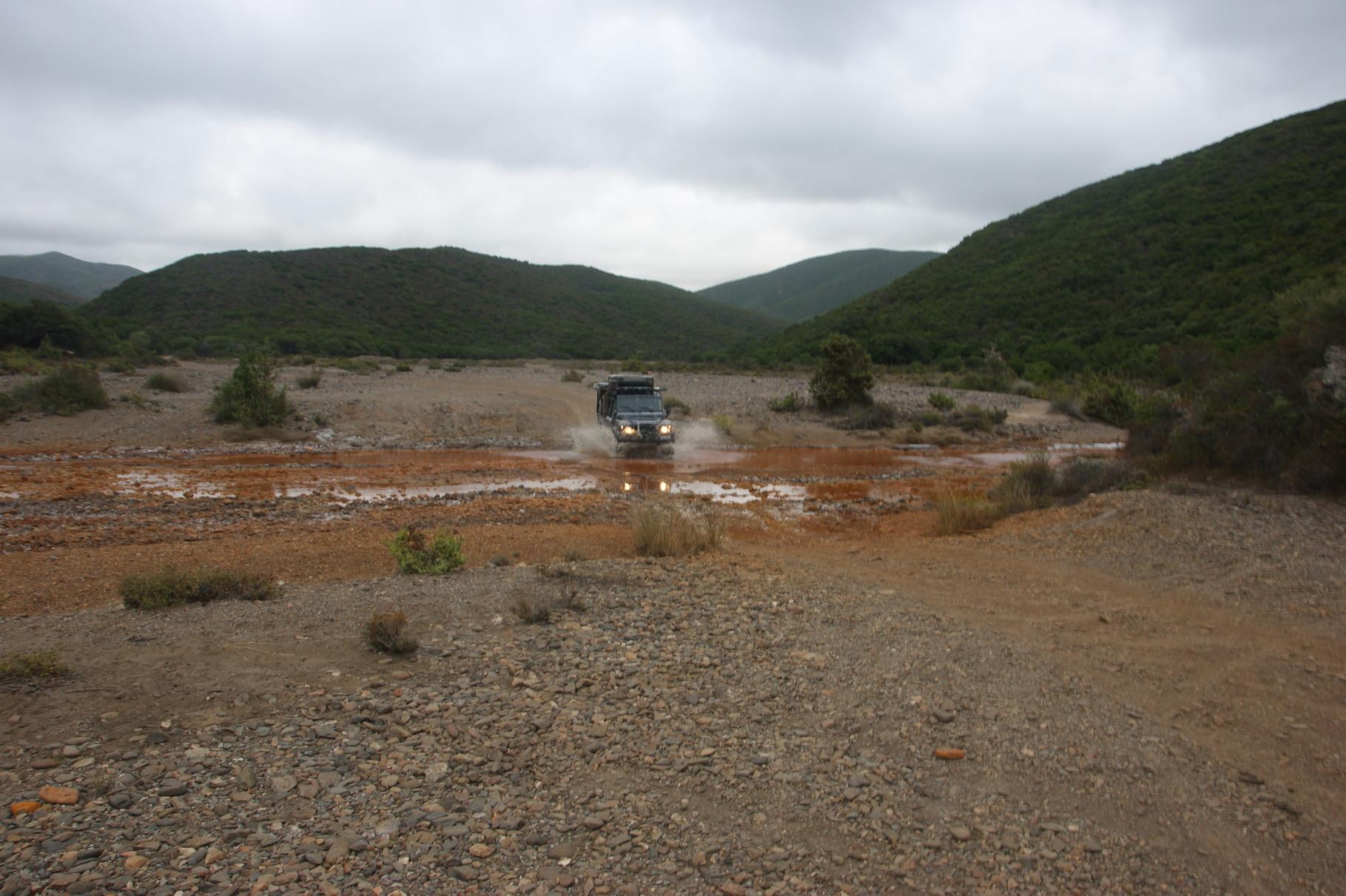 Wasserspiele in Sardinien