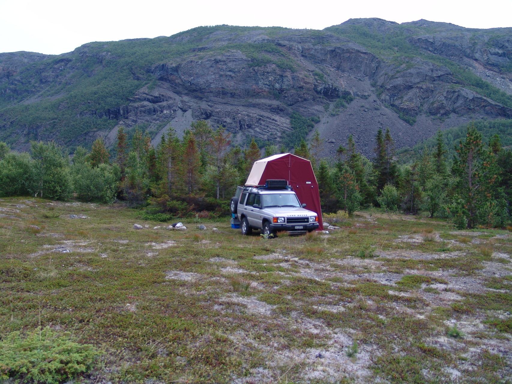 Wildcampieren in Lappland mit dem erstaundlich mückendichten comfort 170