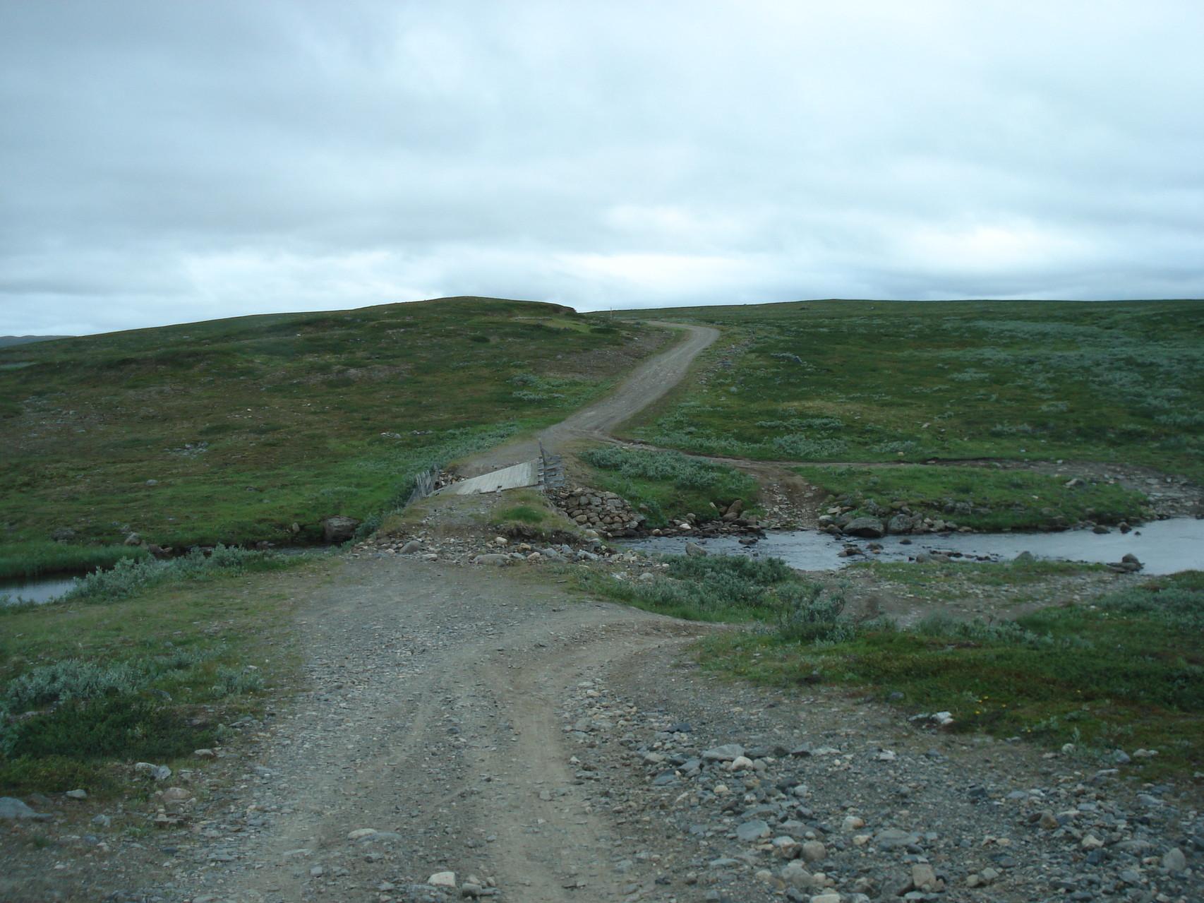 Furt in Lappland