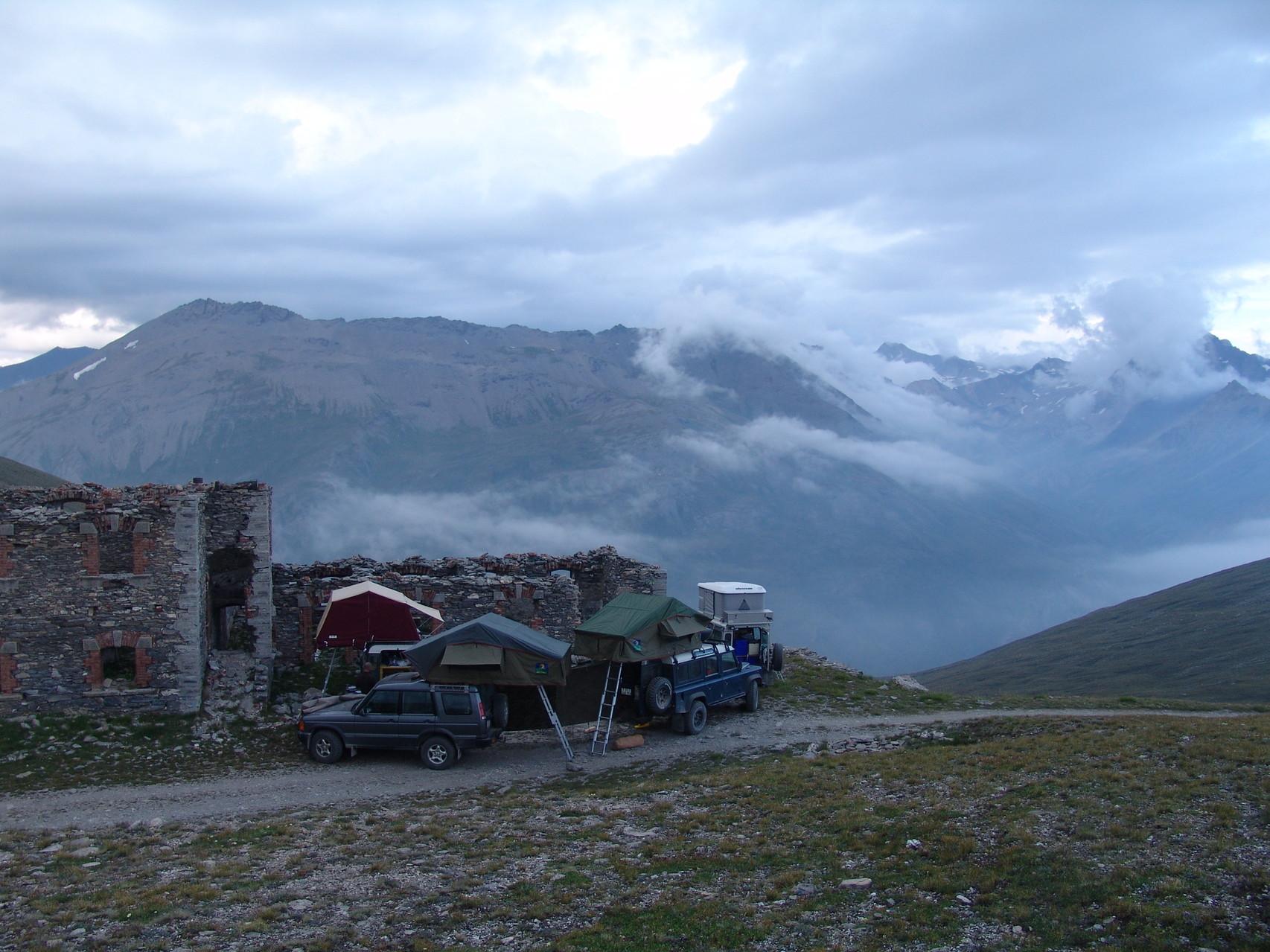 Camp im Piemont