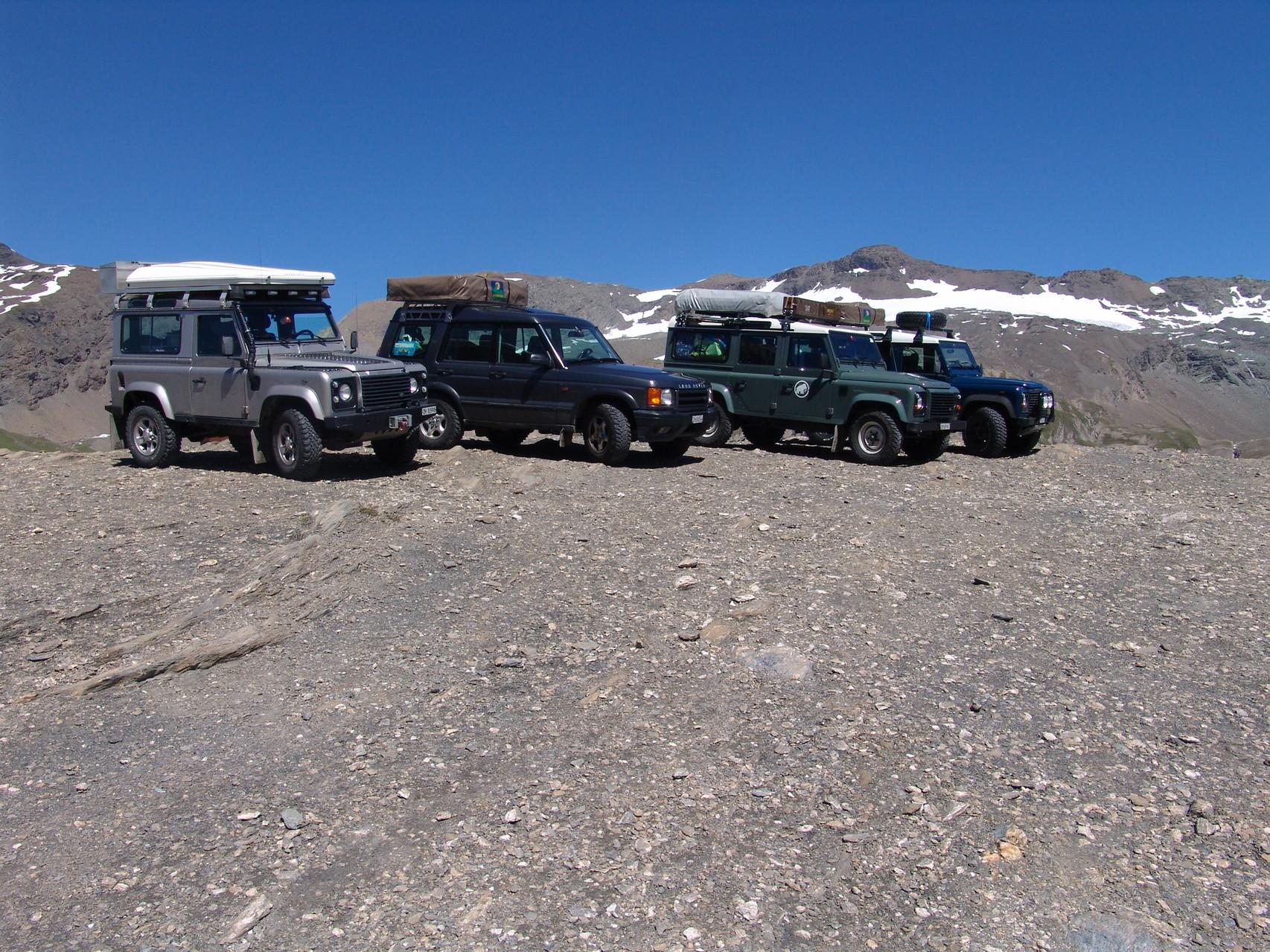 Oberhalb colle Langan auf 2800 müm