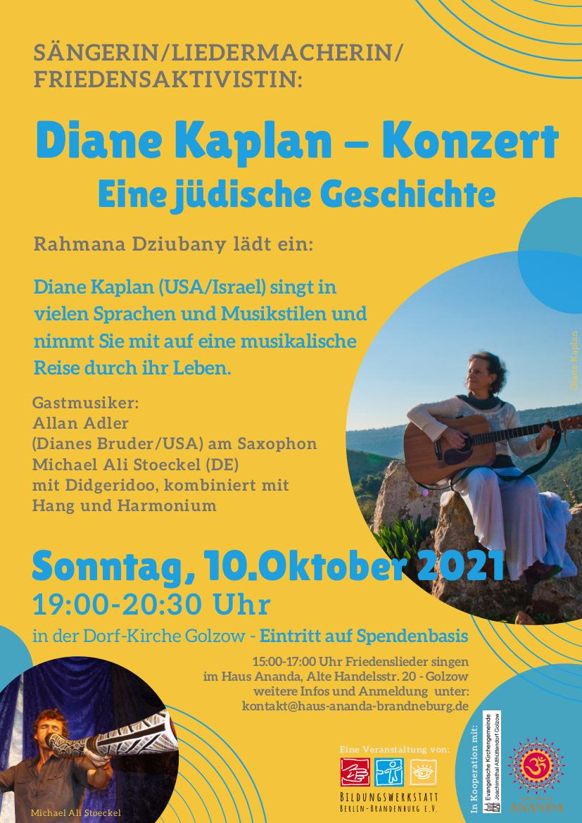 Konzert in der Golzower Dorfkirche