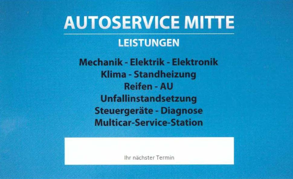 Mike Hilliges Autoservice Mitte